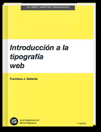 Portada Ebook Introducción a la Tipografía Web
